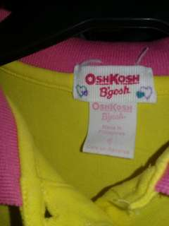 Authentic OSHKOSH b'gosh poll shirt