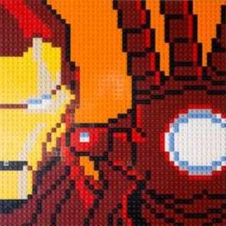 *LegoAsh* 76105 Hulkbuster / Ironman Mosaic Lego