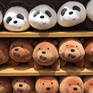 Miniso We Bare Bears 4 Legs Standing