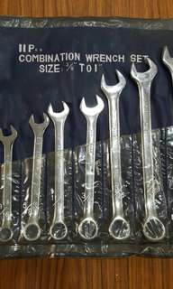Combination Wrench Set - Inch (HW)