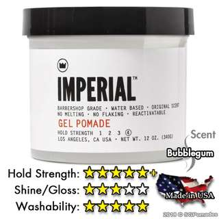 (Free mail) Imperial Barber Gel Pomade 340ml