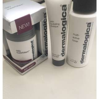 Dermalogica Products x 3, Superfoliant, Mask, Toner. (Brand New)