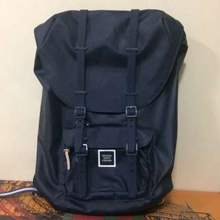 Original Herschel Little America Studio Mesh blue Water proof