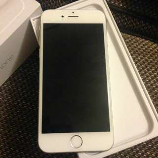IPhone 6 64g SIlver 96%new新凈33(過保no warranty)