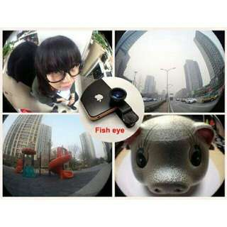 Fish Eye Camera Clip Lens