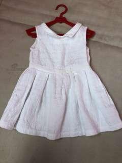 Gingersnap white dress