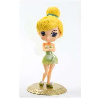 Disney Tinkerbelle Peter Pan Tinkerbell Cake Topper Figurine Toy Cupcake Fondant Toppers Cupcake Qposket