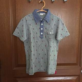 Uniqlo kids polo shirt 4-5T