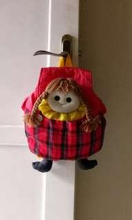 Tas boneka lucu