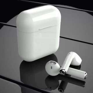 Airpods 同款 雙耳真無線藍芽耳機 I7S TWS Wireless Bluetooth headphone V4.2 portable Mini headset charger box 連充電盒