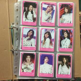 TWICELAND THE OPENING DVD PHOTOCARD