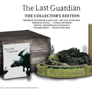 The Last Guardian's Collector's Edition