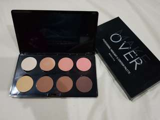 Make Over Professional Highlight and Contour Palette