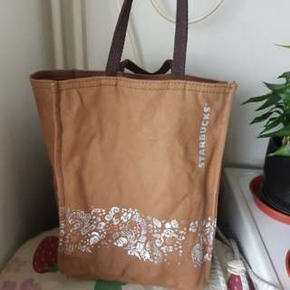 New / Starbucks Lunch Bag
