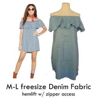 Denim Nursing dress