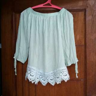Blouse Sabrina Greentea