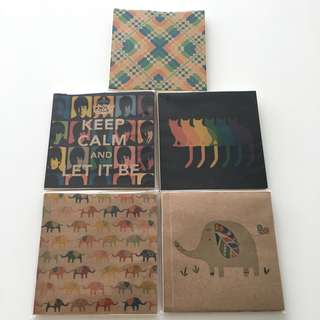 Brand New Sealed Art Notebooks 11cm