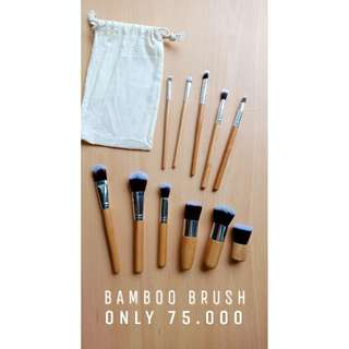 Jual Bamboo Brush set 11pcs