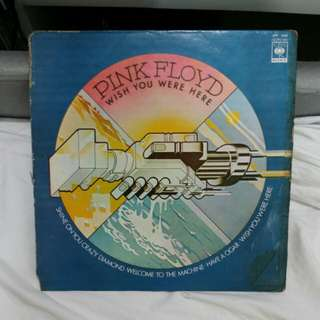 Vinyl Record - Pink Floyd, Wish You Were Here