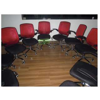 Clerical chair - office furniture - partition
