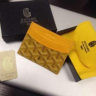 Goyard card holder rep