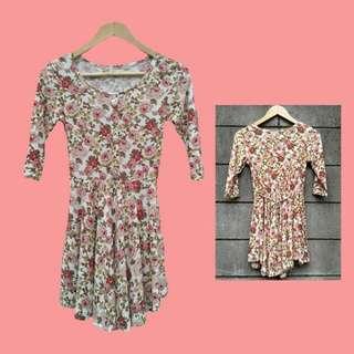 Floral Dress/Long Top