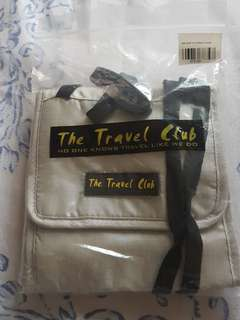 Travel Club neck pouch