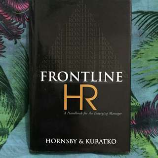 📖 Frontline HR - A Handbook for the Emerging Manager