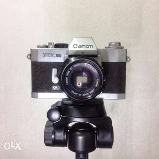 Canon EX Auto QL Film Camera