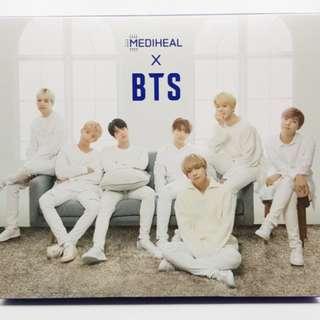 BTS x Mediheal Mask with Postcards