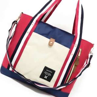 Anello bag size : 14 inches