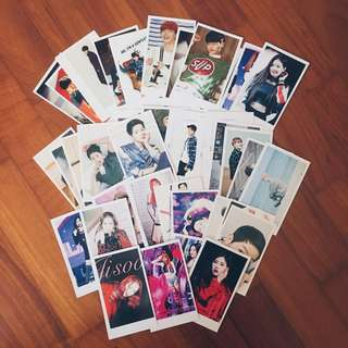 INSTOCK KPOP LOMO CARDS