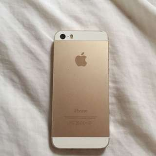 Rose gold iPhone 5s