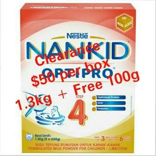 Nestle Nankid Optipro Step 4 1.3KG
