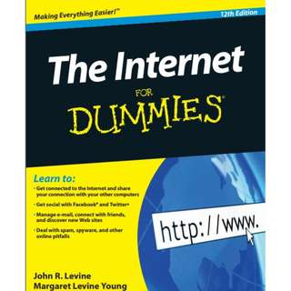 The Internet For Dummies 12th Edition eBook