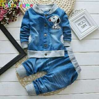 Set Snopy Denim