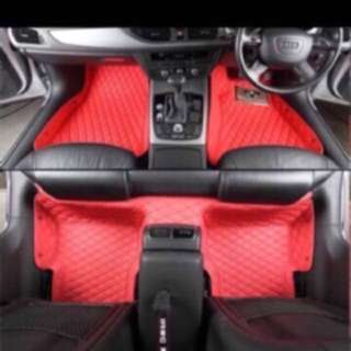 Customized Car Quilt Design Floor Mat