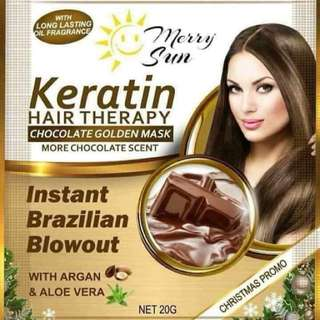 Merry sun keratin theraphy