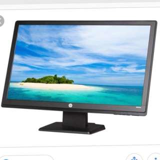 "HP W2371d 23"" Widescreen LCD Monitor * As New"