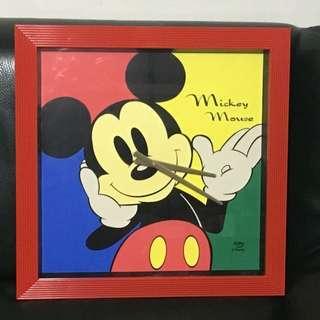 🚚 Micky mouse Disney 米奇 超大時鐘 掛鐘