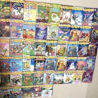 Great deal! 50 books of Geronimo Stilton.