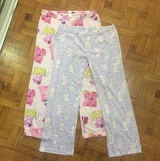 Lot of 2 pajamas - size 14