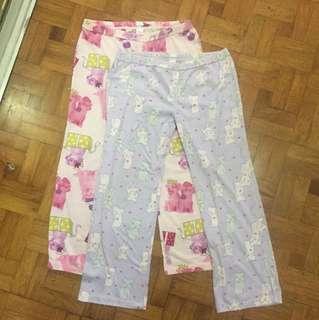 Lot of 2 pajamas - size 14