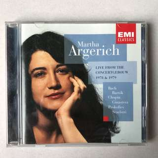Martha Argerich Live from Concertgebouw 1978 & 1979