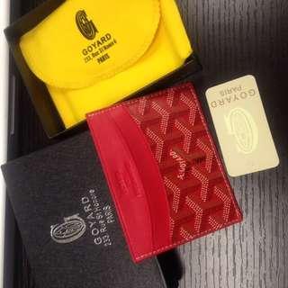 Goyard card holder high quality