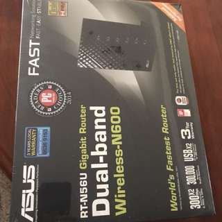 Asus Wireless Router, Dual band, Wireless N600