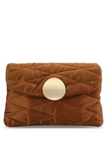 Mango Quilted Clutch