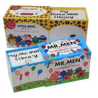 Mr Men/MIss little Book Brand New