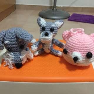 Crochet Puppies (Handmade)