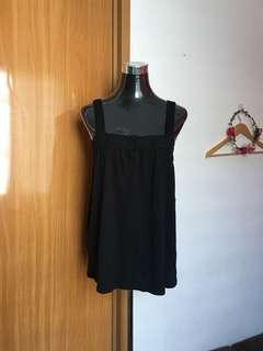 Roxy Black Crochet Top